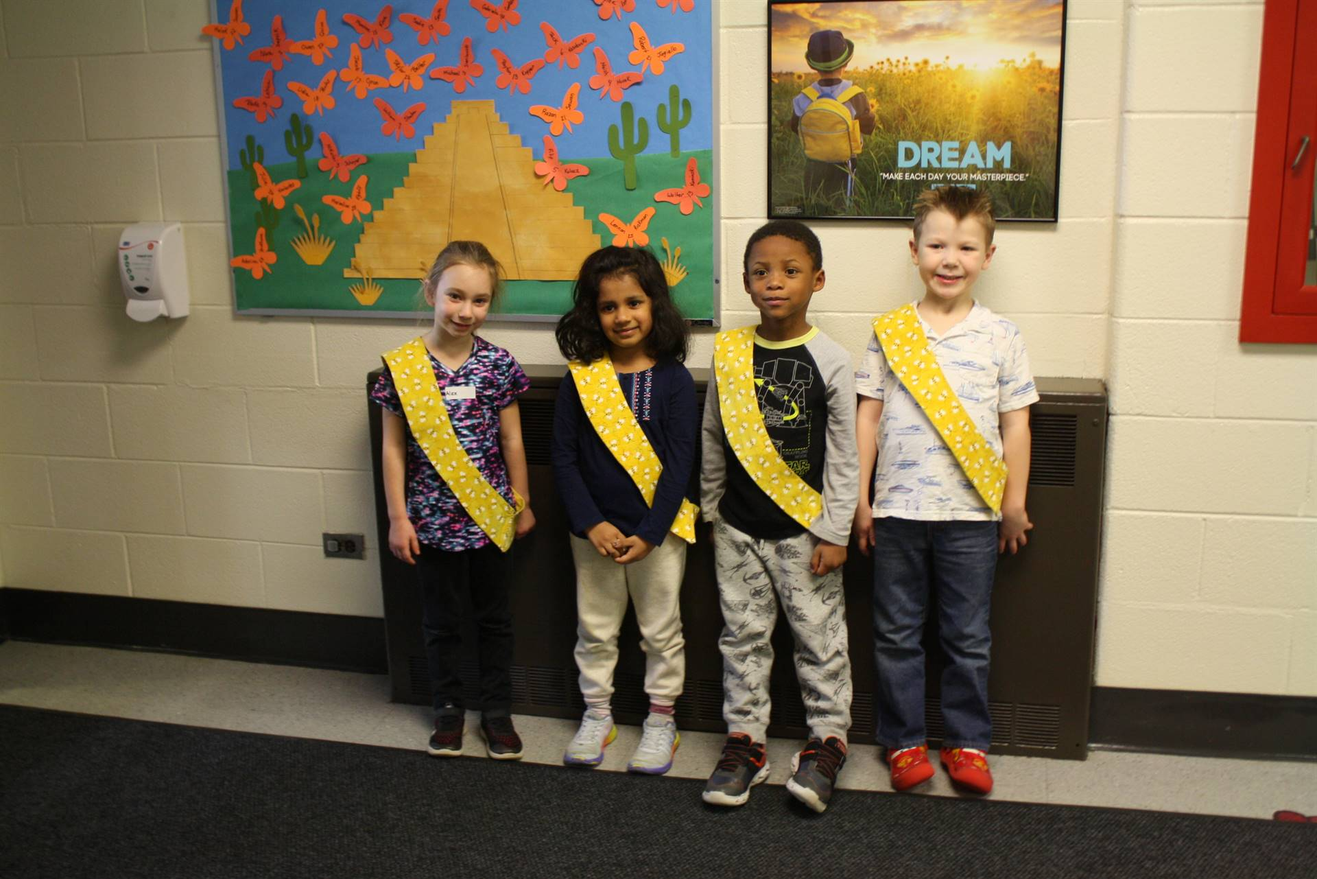 Bee Sash Winners - 1/11/2019