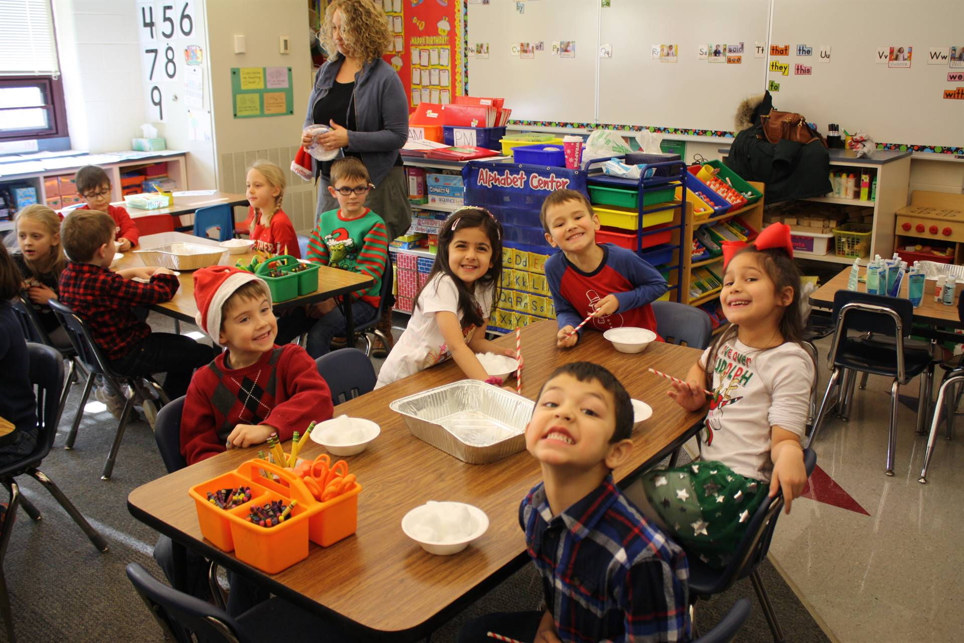 Kindergarten Winter Parties