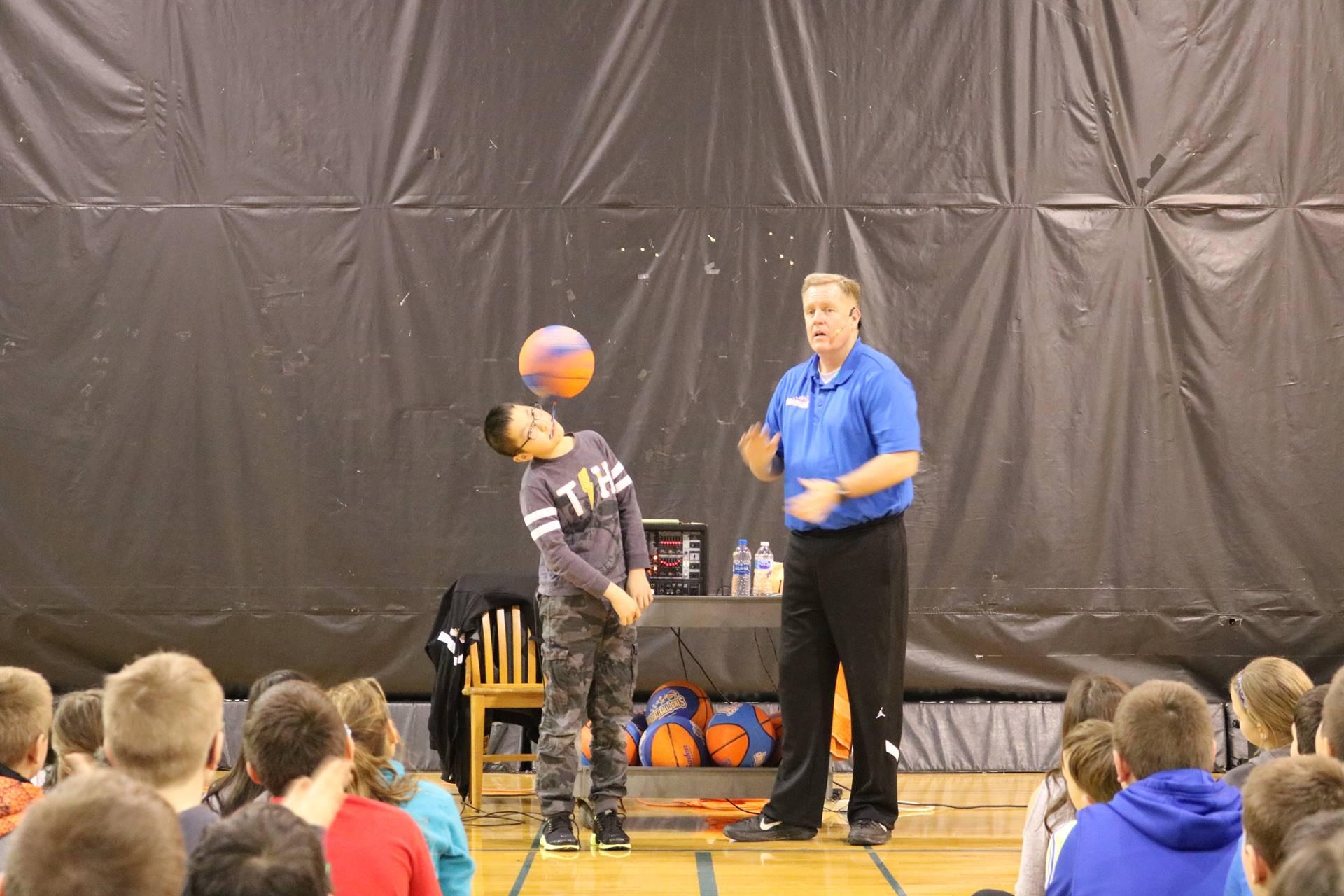 Basketball Jones Assembly