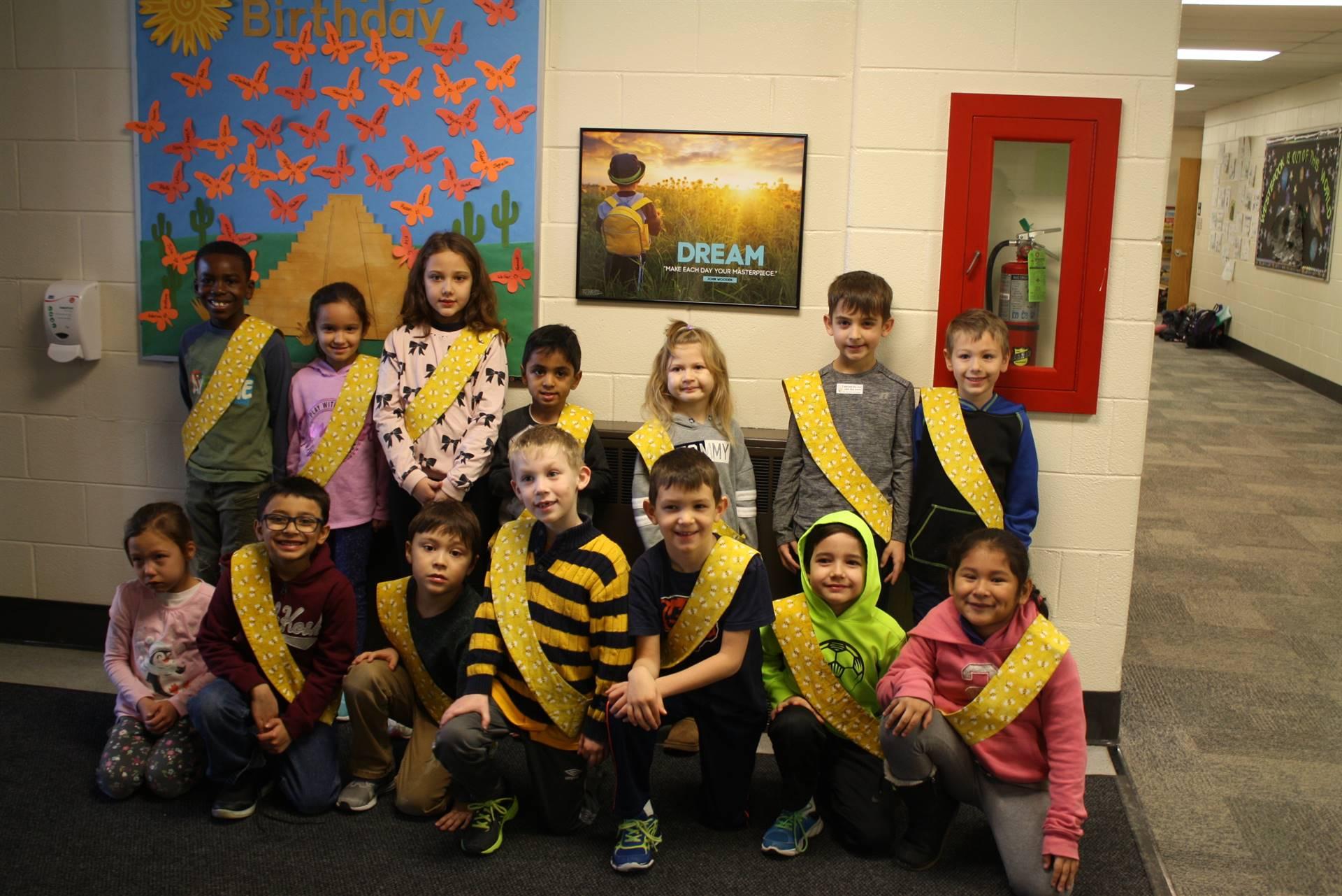 Bee Sash Winners - 1/25/2019
