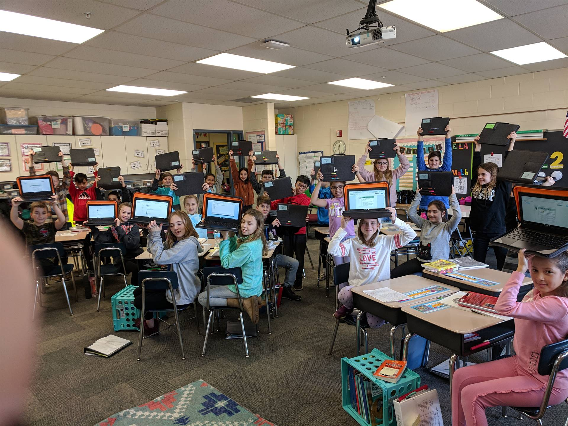 5th Grade 1:1 Pilot Classes