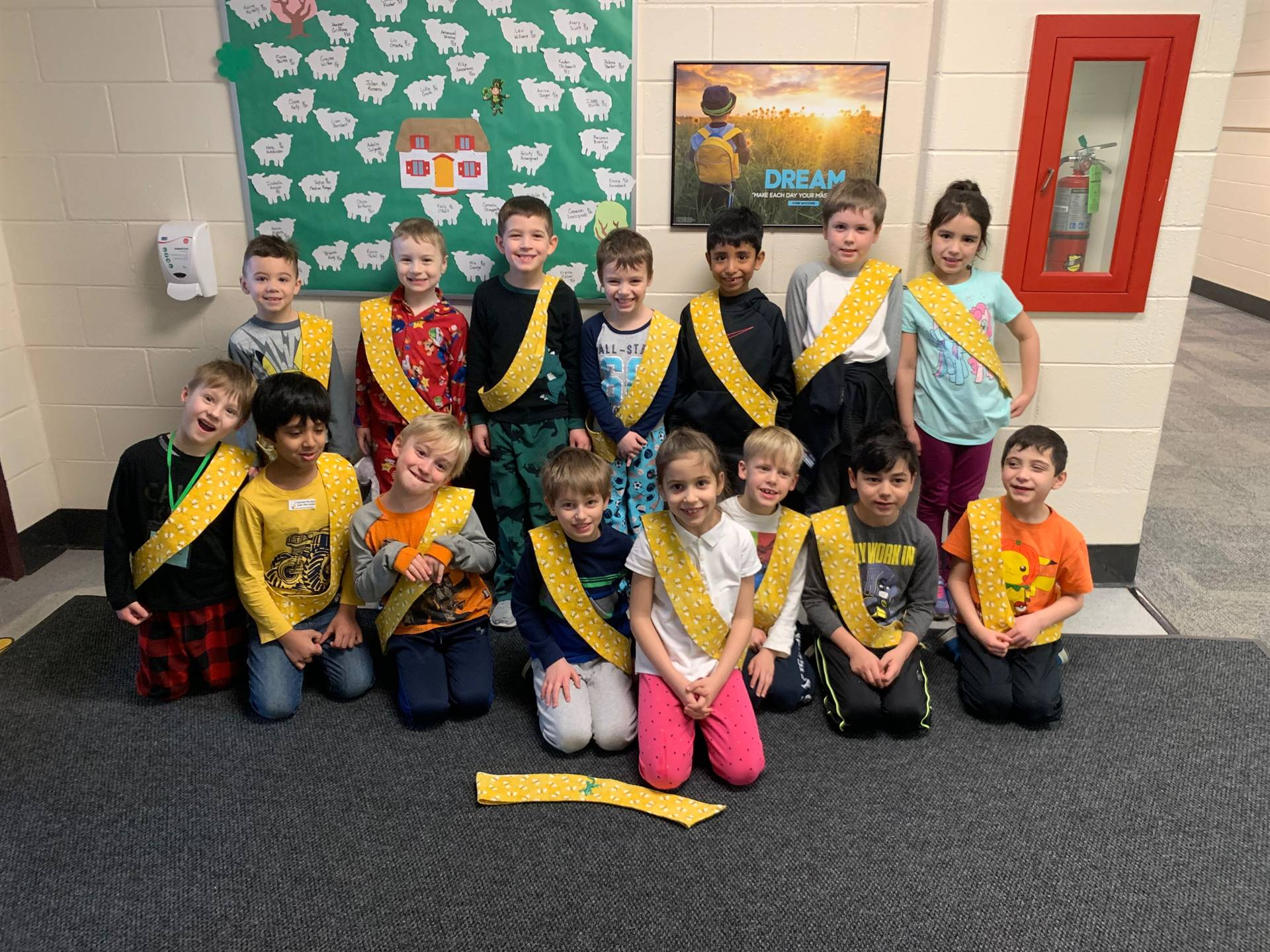Bee Sash Winners - 3/1/2019