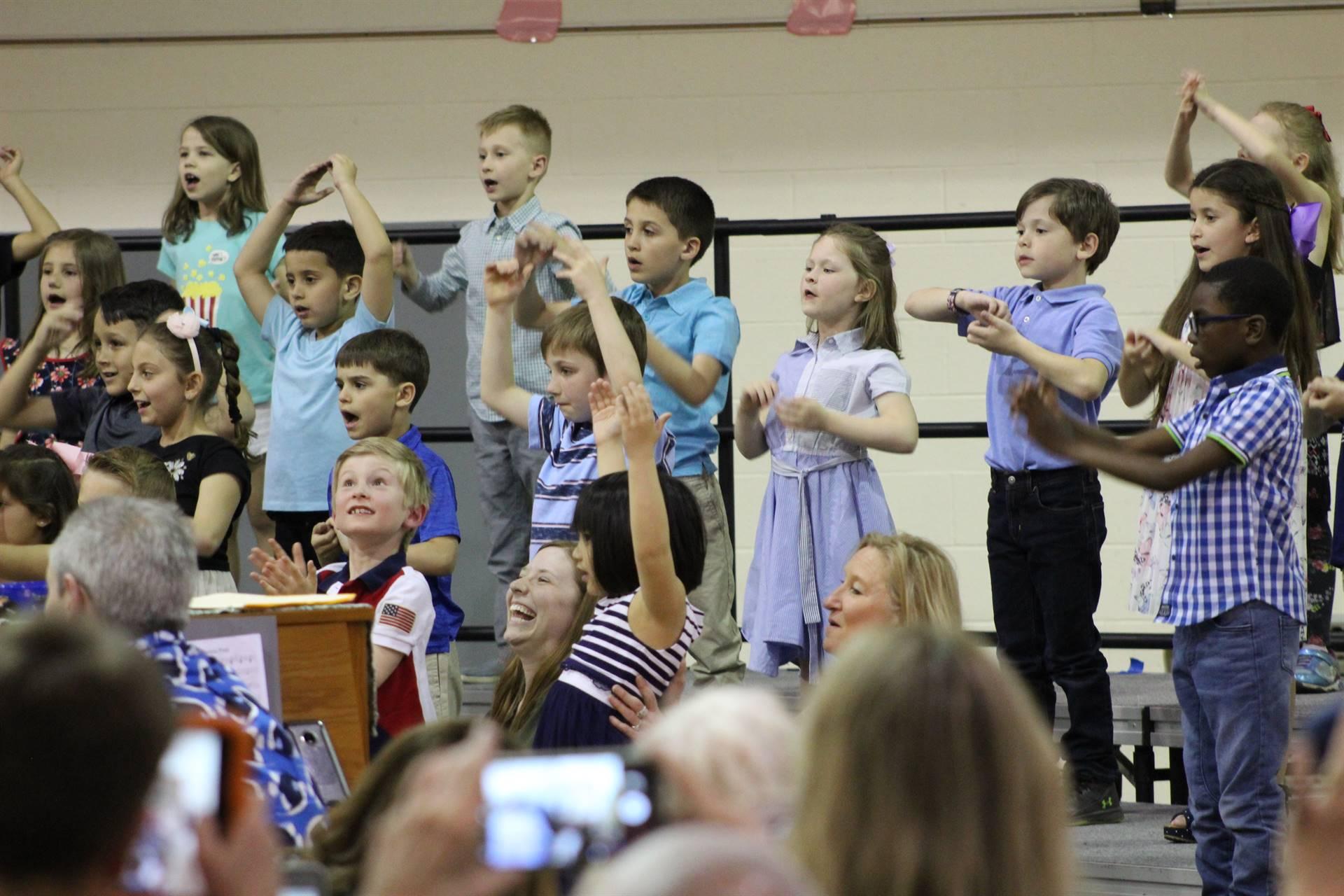 First Grade Concert 5/13/2019