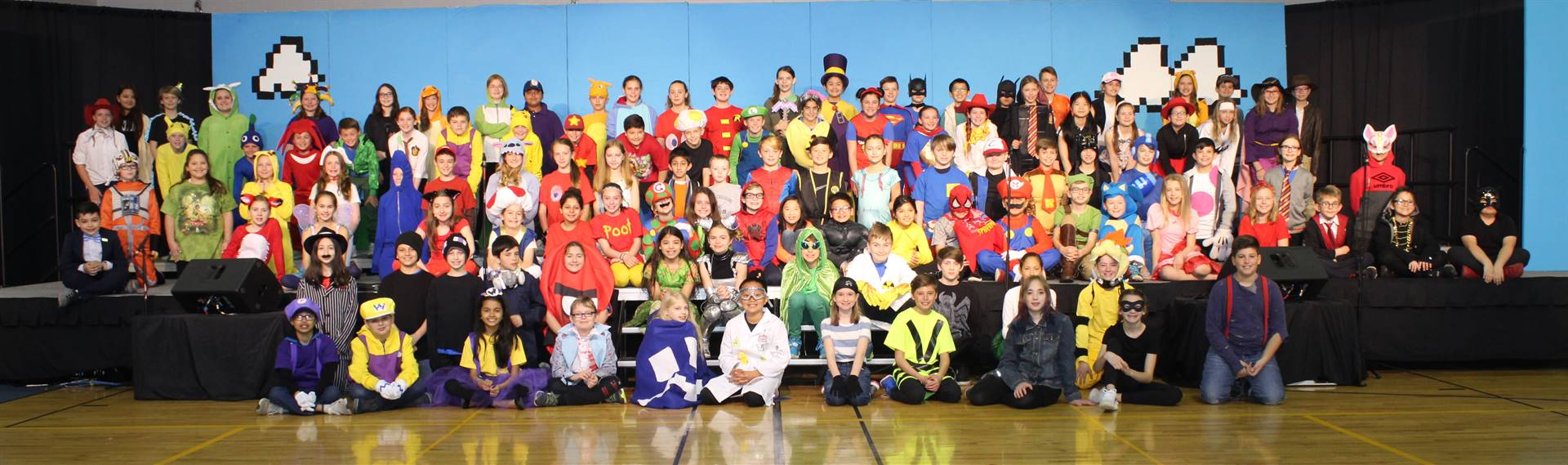 5th Grade Musical Cast Photo