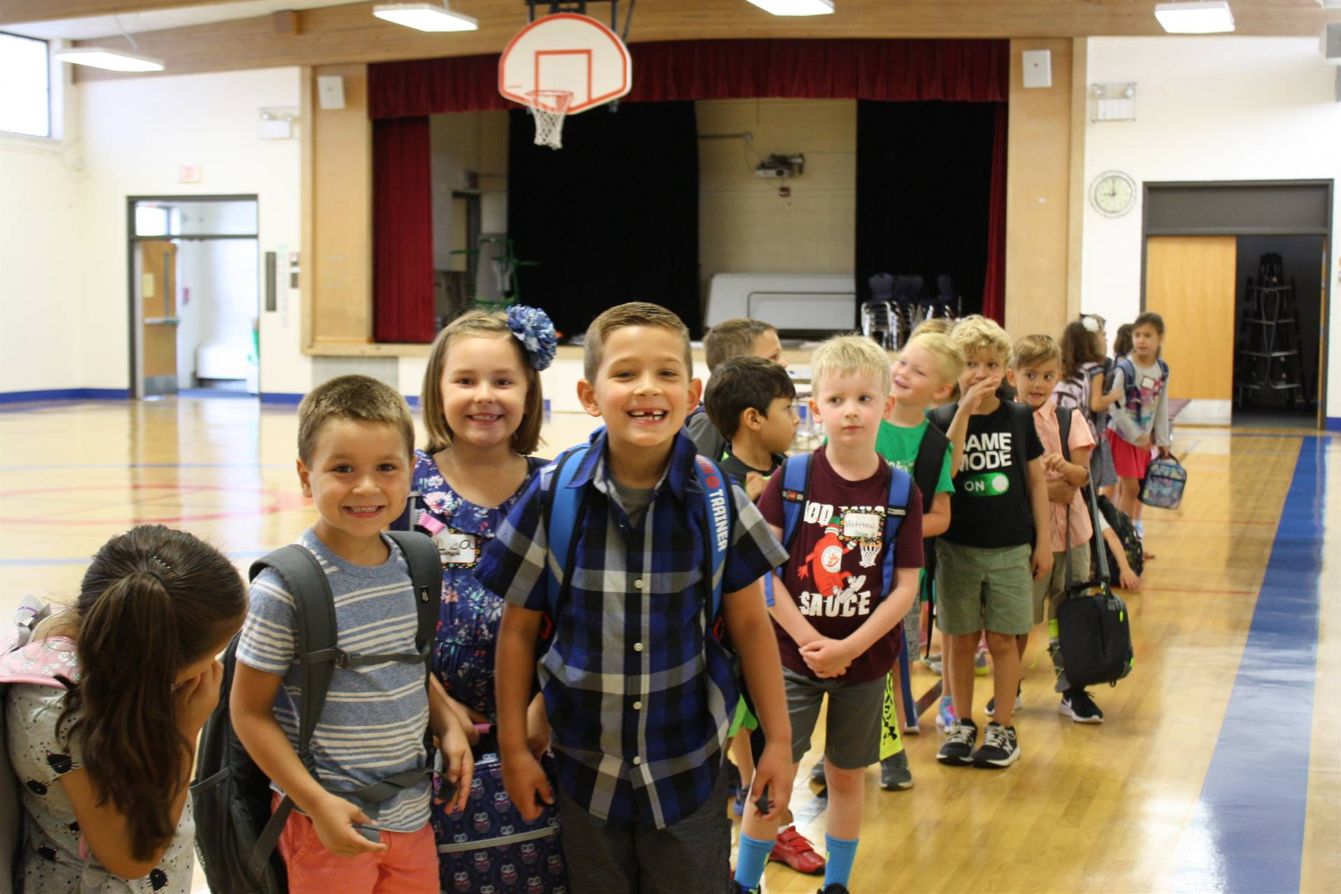 First Day of School 8/21/2019