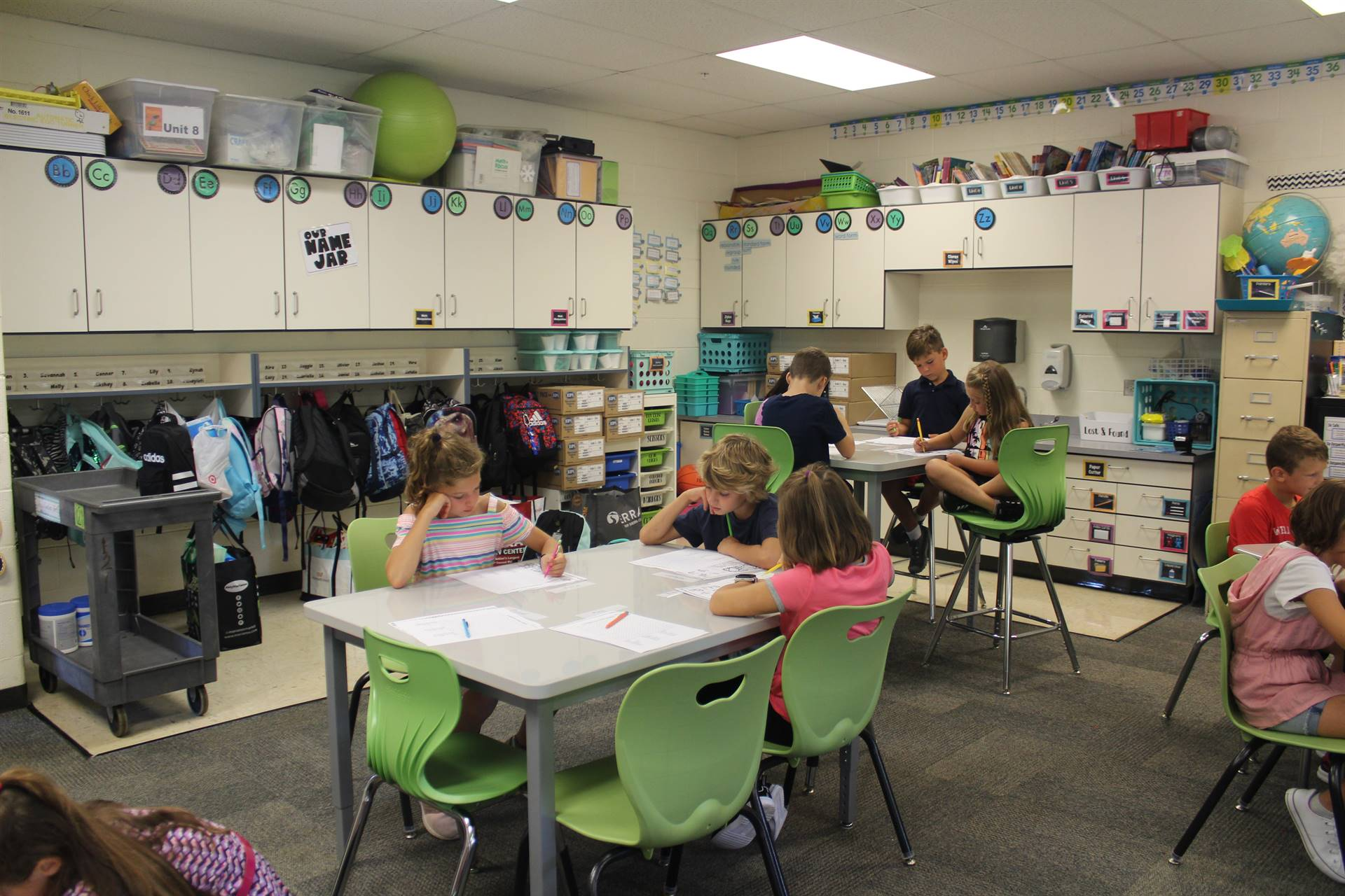 1st Day of School - Flexible Seating Classroom