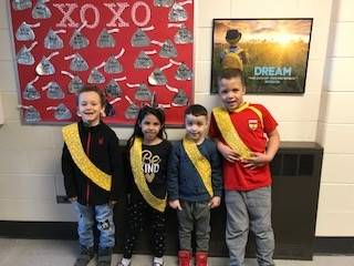 Bee Sash Winners - 2/21/20