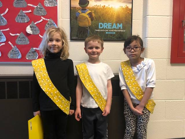 Bee Sash Winners - 2/28/20
