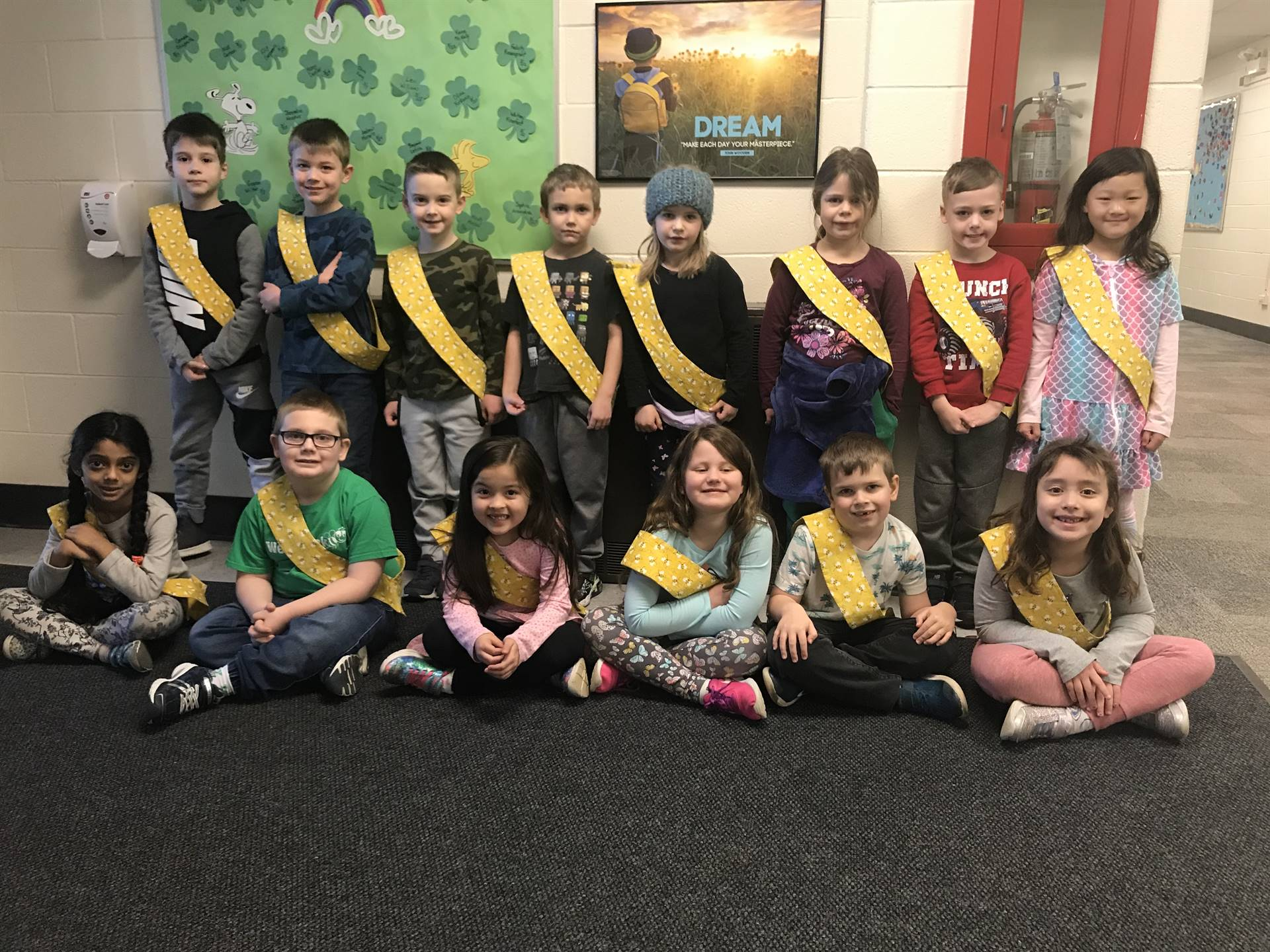 Bee Sash Winners - 3/13/2020