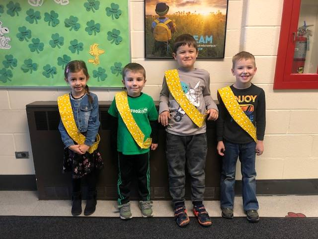 Bee Sash Winners - 3/13/20
