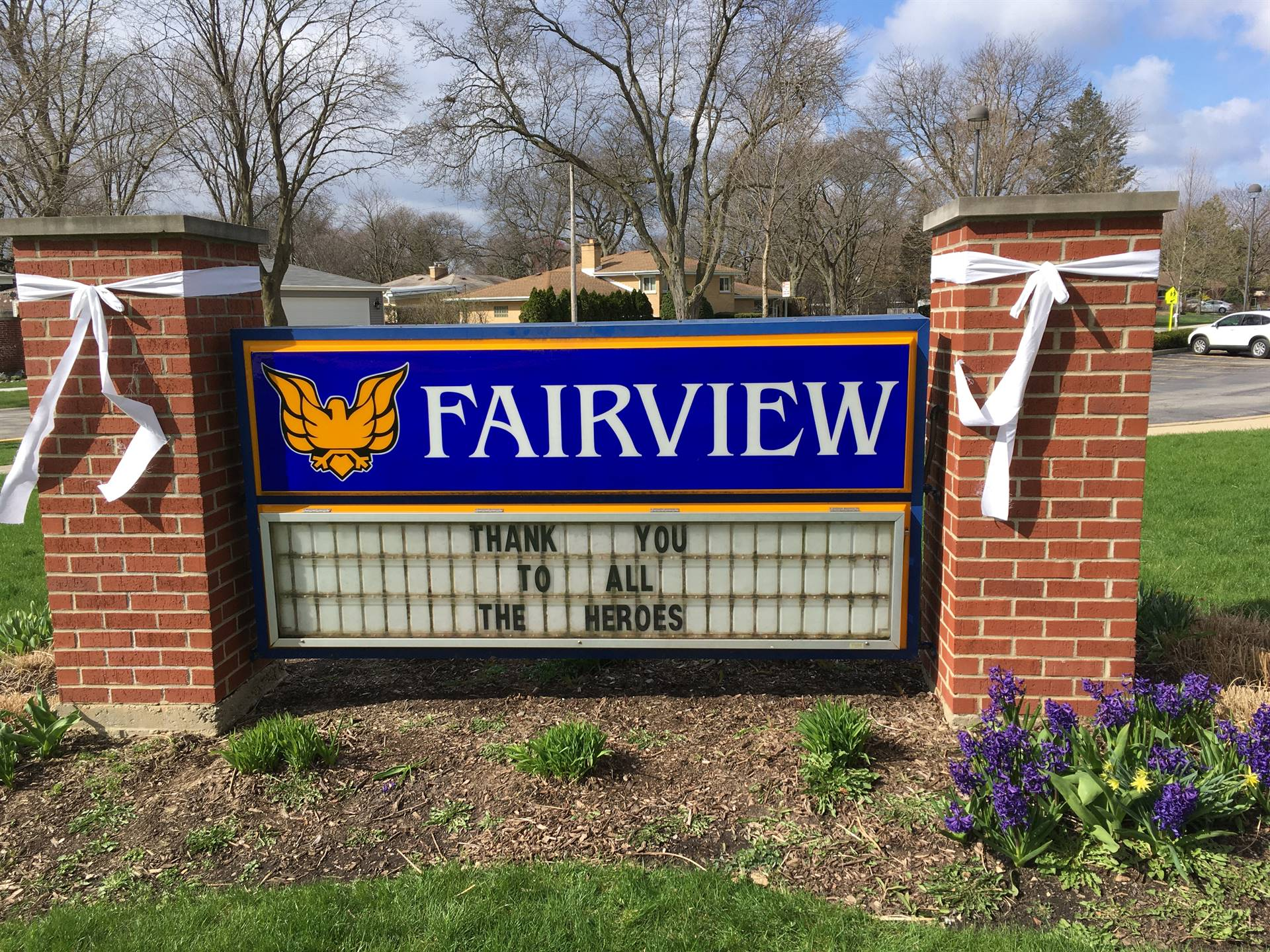 Fairview's White Bow Campaign